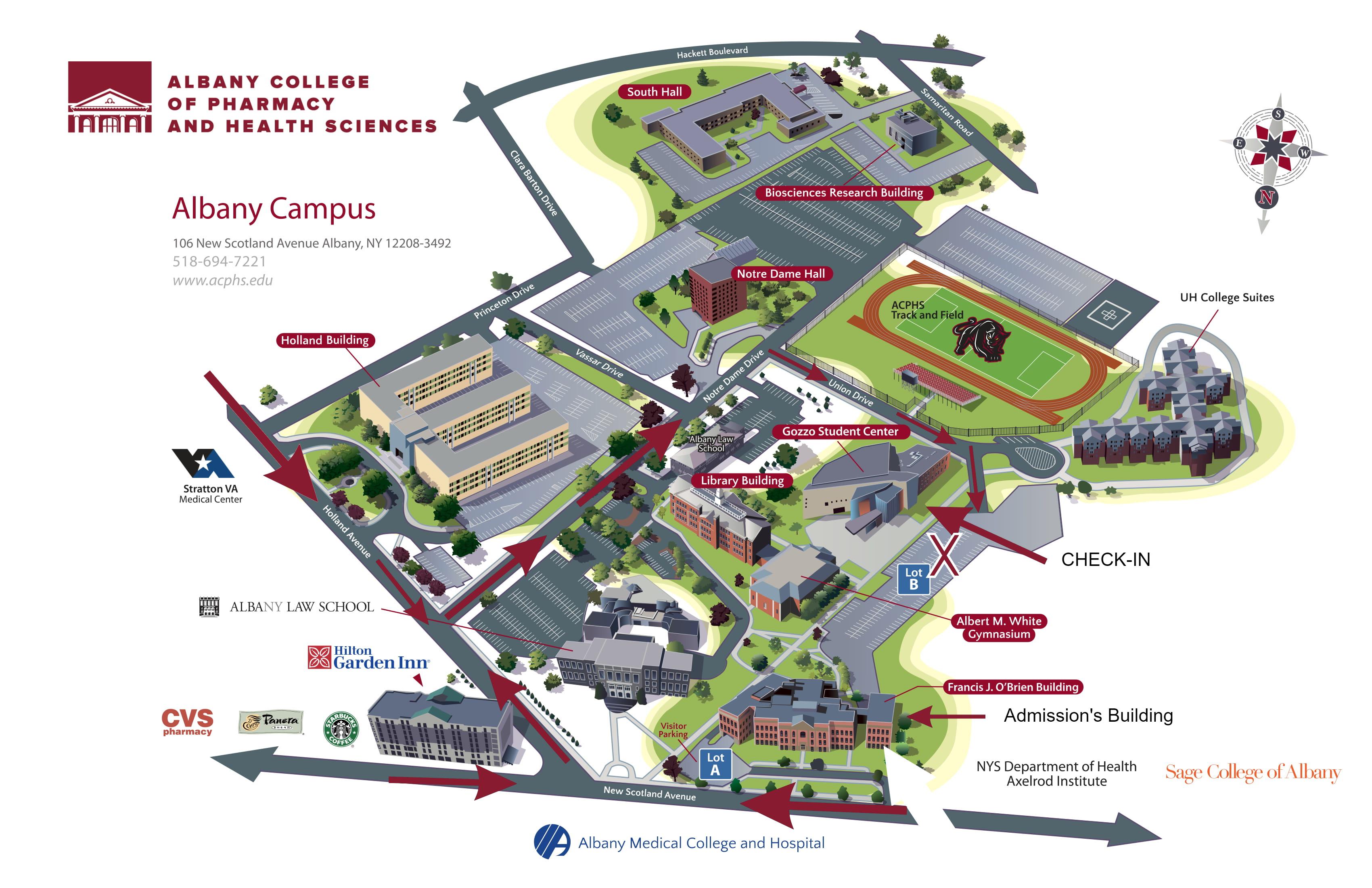 Unh Campus Map le maps