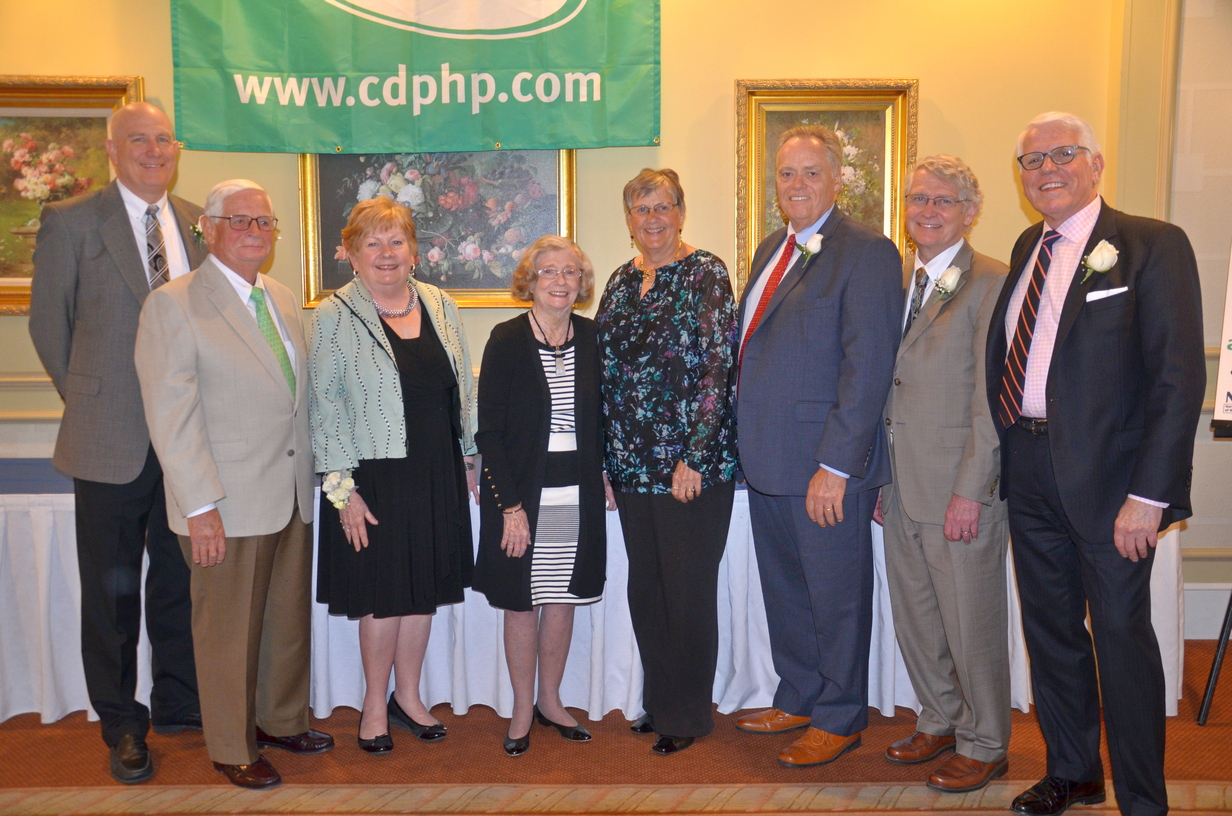 ACPHS President Greg Dewey (second from right) is among the honorees at the Third Age Achievement Awards