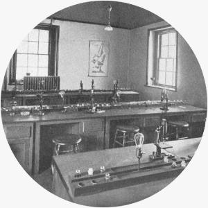 An Albany College of Pharmacy Microscopial Lab circa 1909