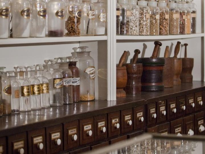 Throop Pharmacy Museum at Albany College of Pharmacy and Health Sciences