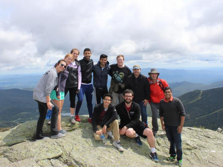Vermont students at Mount Stowe